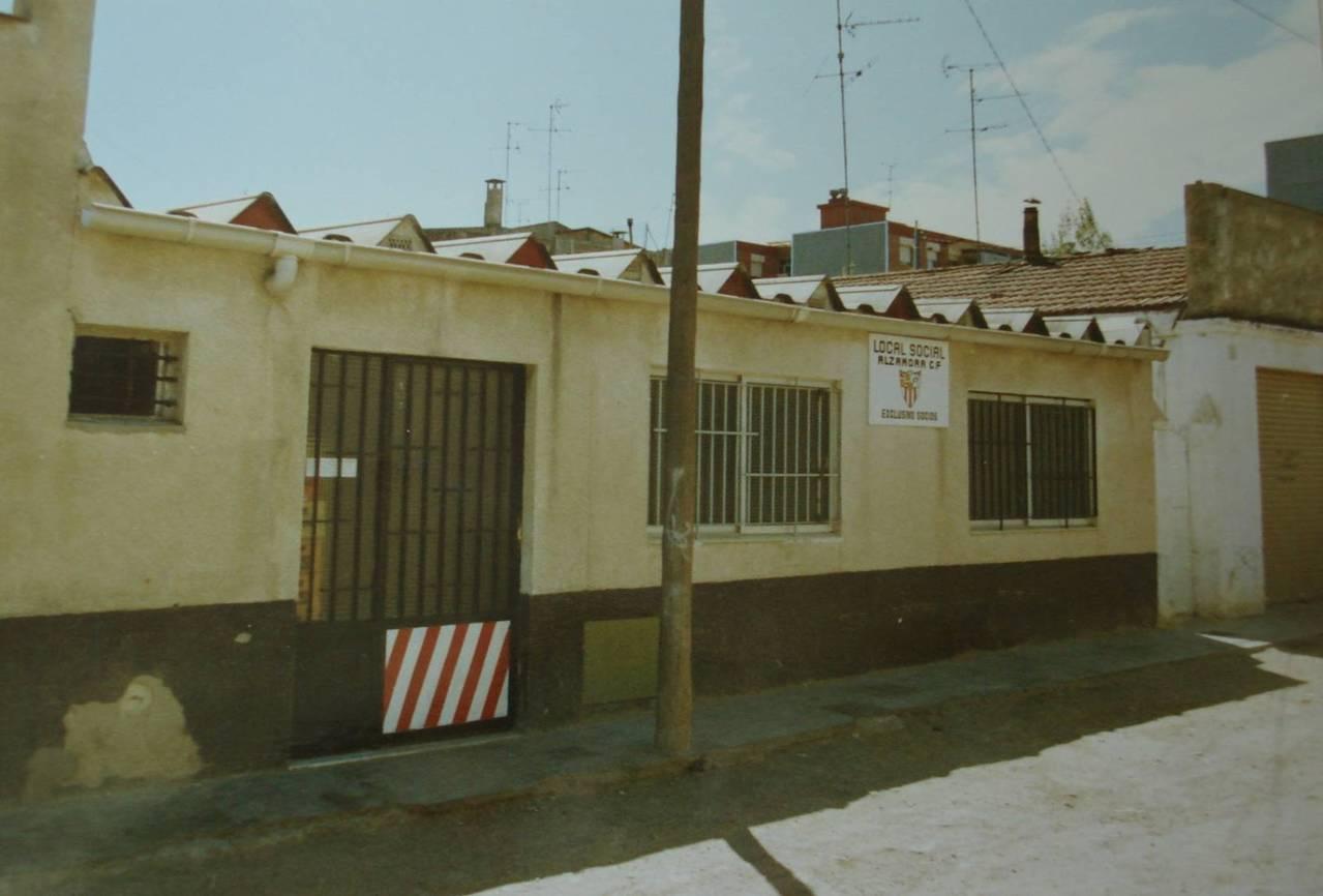 Antiguo local social del Club