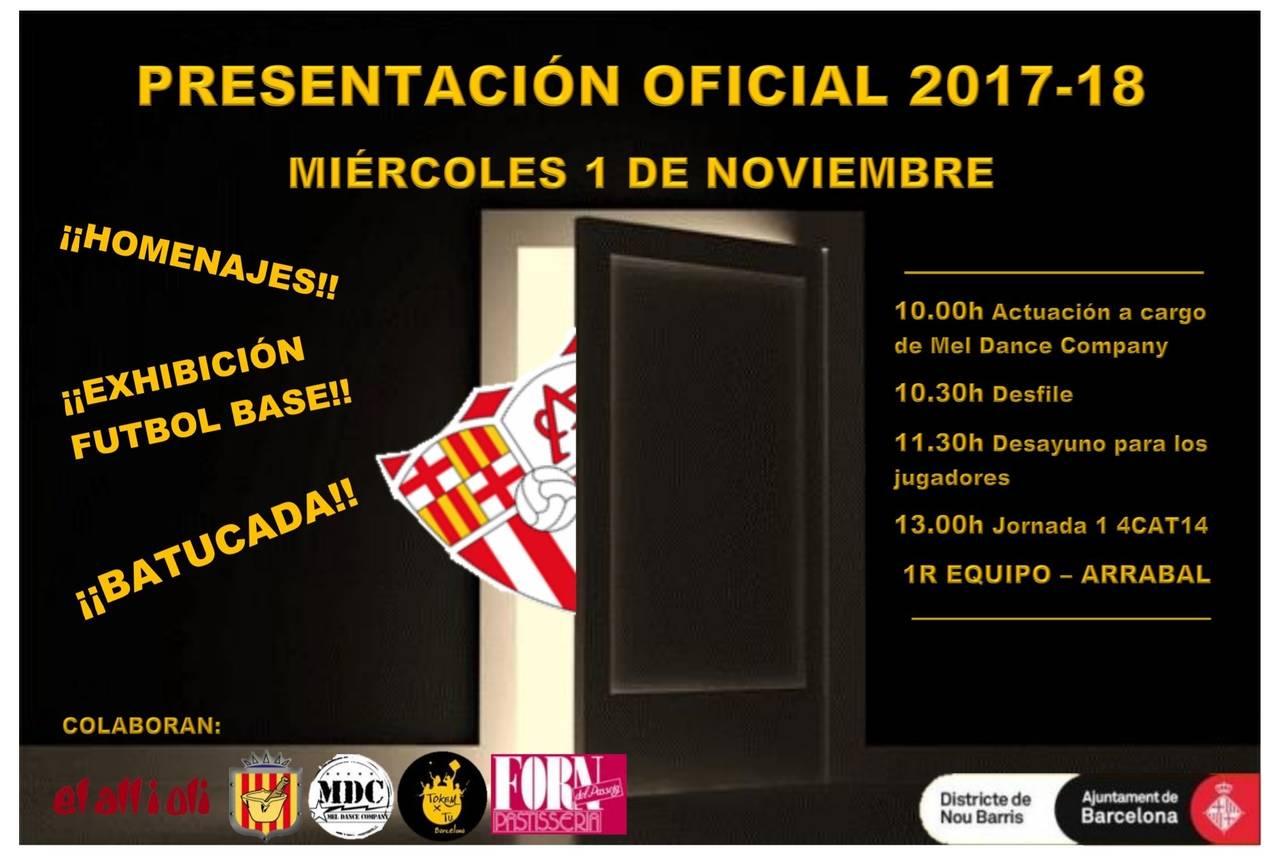 Presentación Temporada 2017-2018
