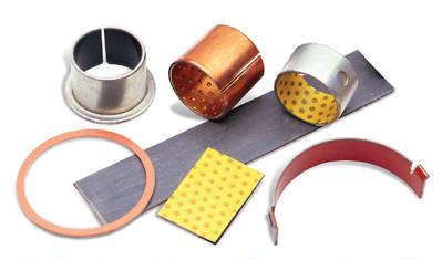 Cojinetes bimetálicos, de polímeros, fibras y sintetizados