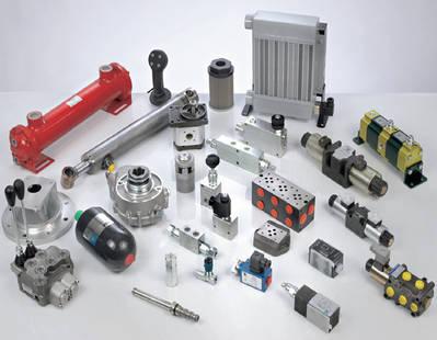 Electroválvulas / Divisores de caudal / Cilindros hidráulicos