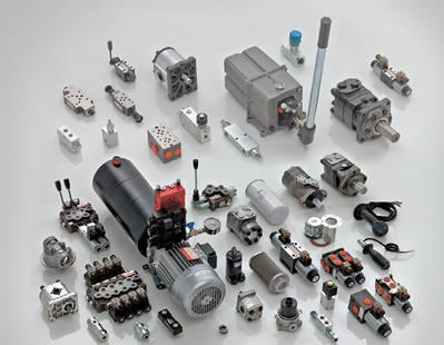 Minicentrales / Bombas / Motores / distribuidores hidráulicos / Empuñaduras y selectores