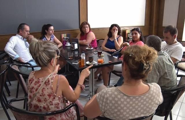Cafè Tertulia amb els comerciants de Balaguer