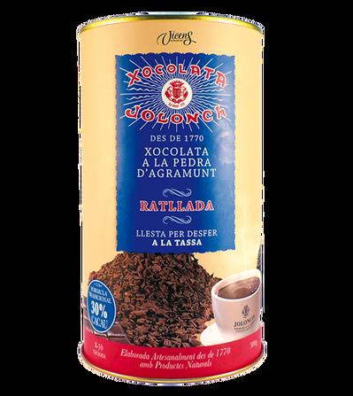 Tube de chocolat râpé 500 G 30% cacao