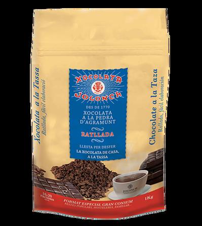 Chocolate a la piedra rallado 1kg