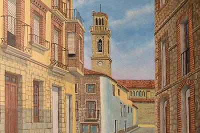 Calle Colón, Murchante, Navarra