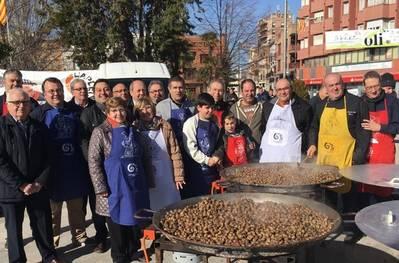 Caragolada Solidària Aplec&Oli a la Fira de l'Oli de Qualitat Verge Extra de Les Borges Blanques