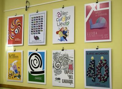 Exposición del concurso de Carteles del XL Aplec del Caragol de Lleida