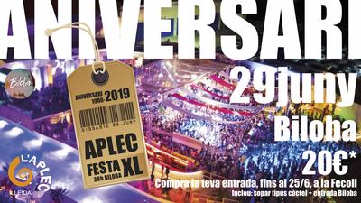 FESTA XL Aplec Lleida 2019