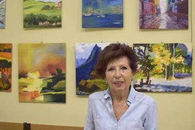 Exposició d'olis de la Pilar Aldabó
