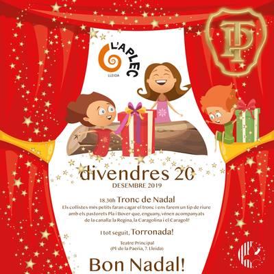Tronc de Nadal i Torronada