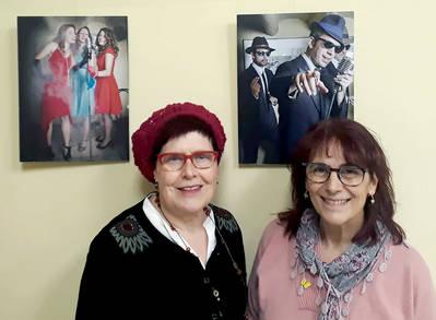 """Exposició """"Temps de Jazz"""", de Carme Torres i Blanca Martínez, a la Fecoll"""