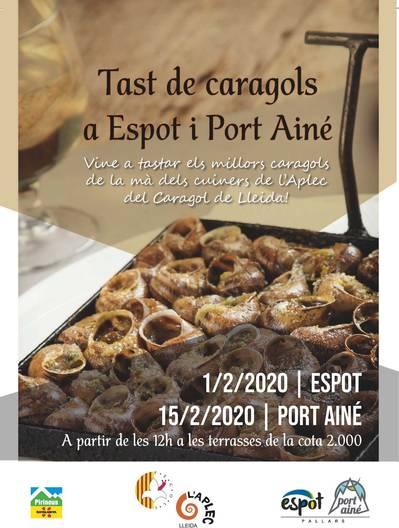Caraflocs a Port Ainé. Tastet d'Alçada Cota 2000