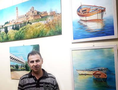 Robert Díaz expone en la Fecoll