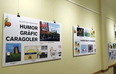 Exposició de les millors obres del Concurs Internacional d'Humor Gràfic Caragoler