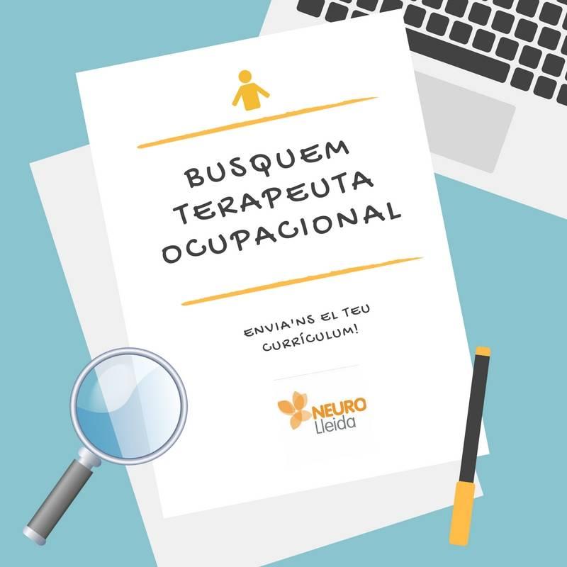 Oferta de trabajo: Buscamos Terapeuta ocupacional