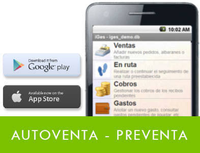 Movilidad (AUTOVENTA/PREVENTA)