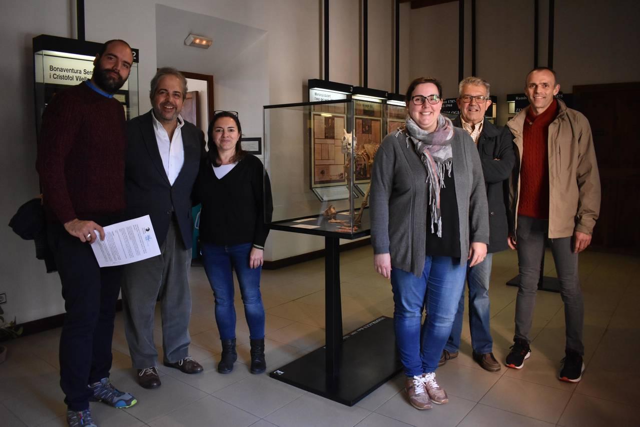 Conveni Associació Museu Balear de Ciències Naturals i el CC Sant Vicenç de Paül de Sóller