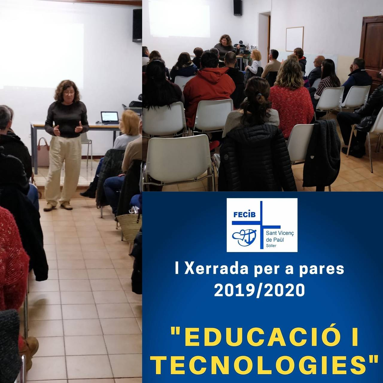 "Talk for parents: ""Education and technologies"""