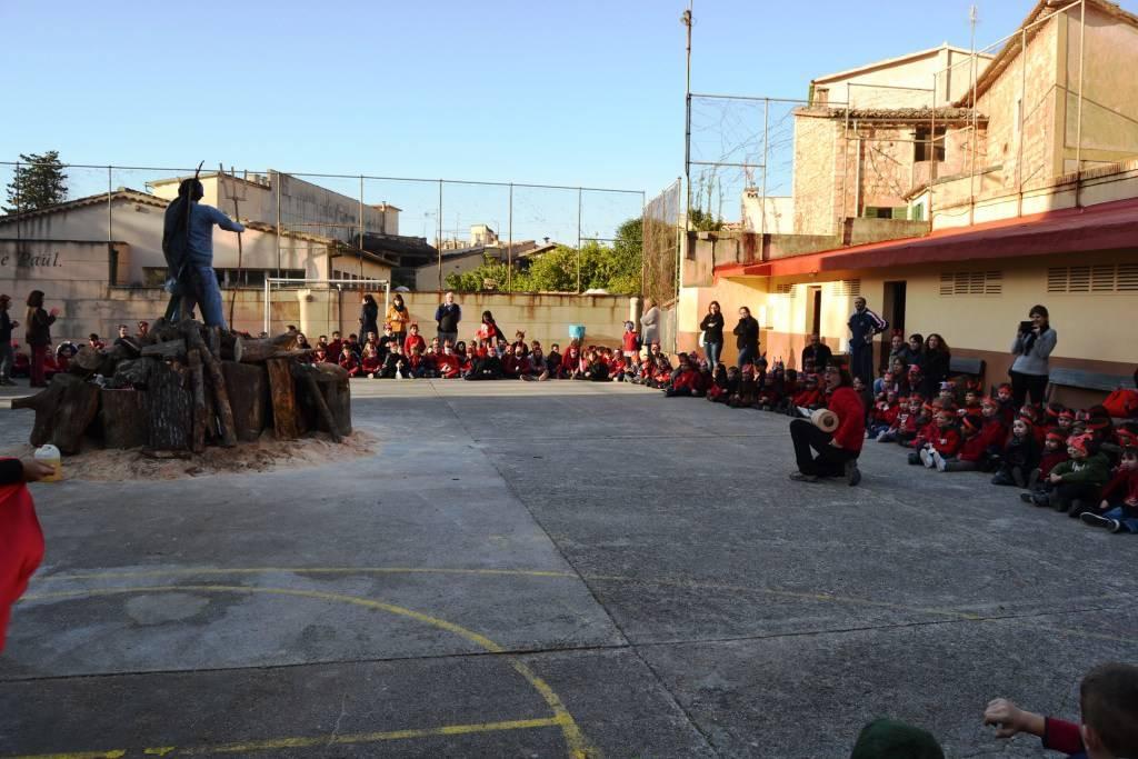 Foc de Sant Antoni 2015