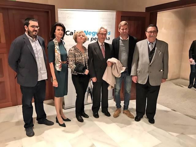 El Dr. D. Felipe Moreno, Presidente de la Escuela de Turismo, galardonado con el Premio Siurell de Plata 2017