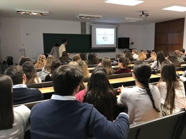 Más de 150 futuros universitarios interesados en el Grado de Protocolo y Organización de Eventos