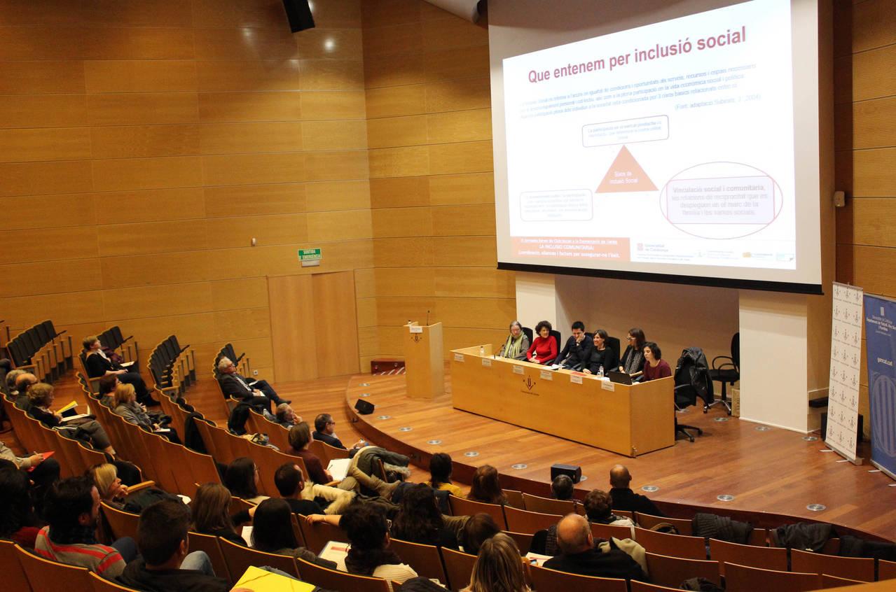 """III Jornada de Club Social: """"La Inclusió Comunitària"""""""