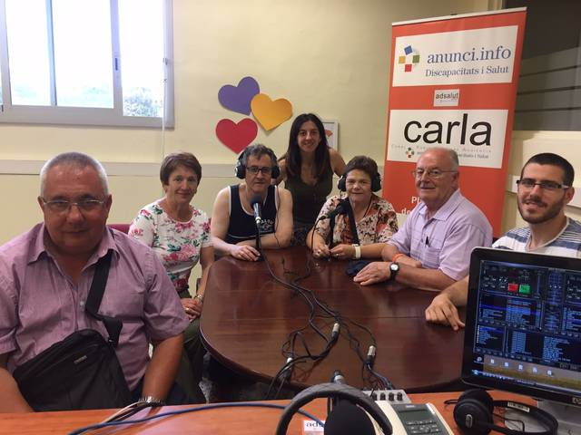Xerrada a Carla Ràdio
