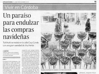 El Día de Córdoba habla de Tutti-frutti