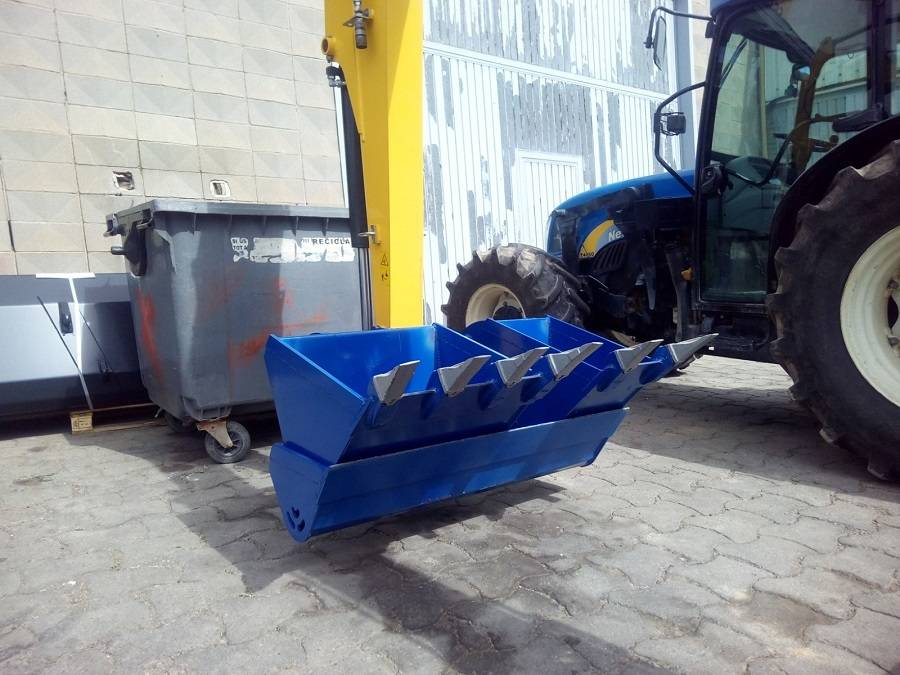 Equipament per giratoria New Holland.