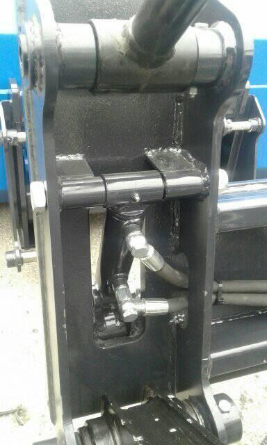 Acolliment ràpid hidraulic per a mixta Hidromek
