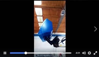 Cullera d'alt volteig de 2 metres cubics