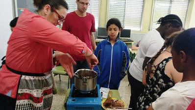 Taller de cuina amb la Conchi Canalejo