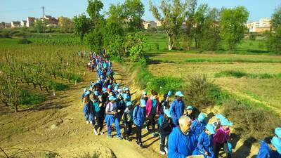 1ª marxa Escola Torre Queralt