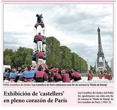 Trobada castellera a París