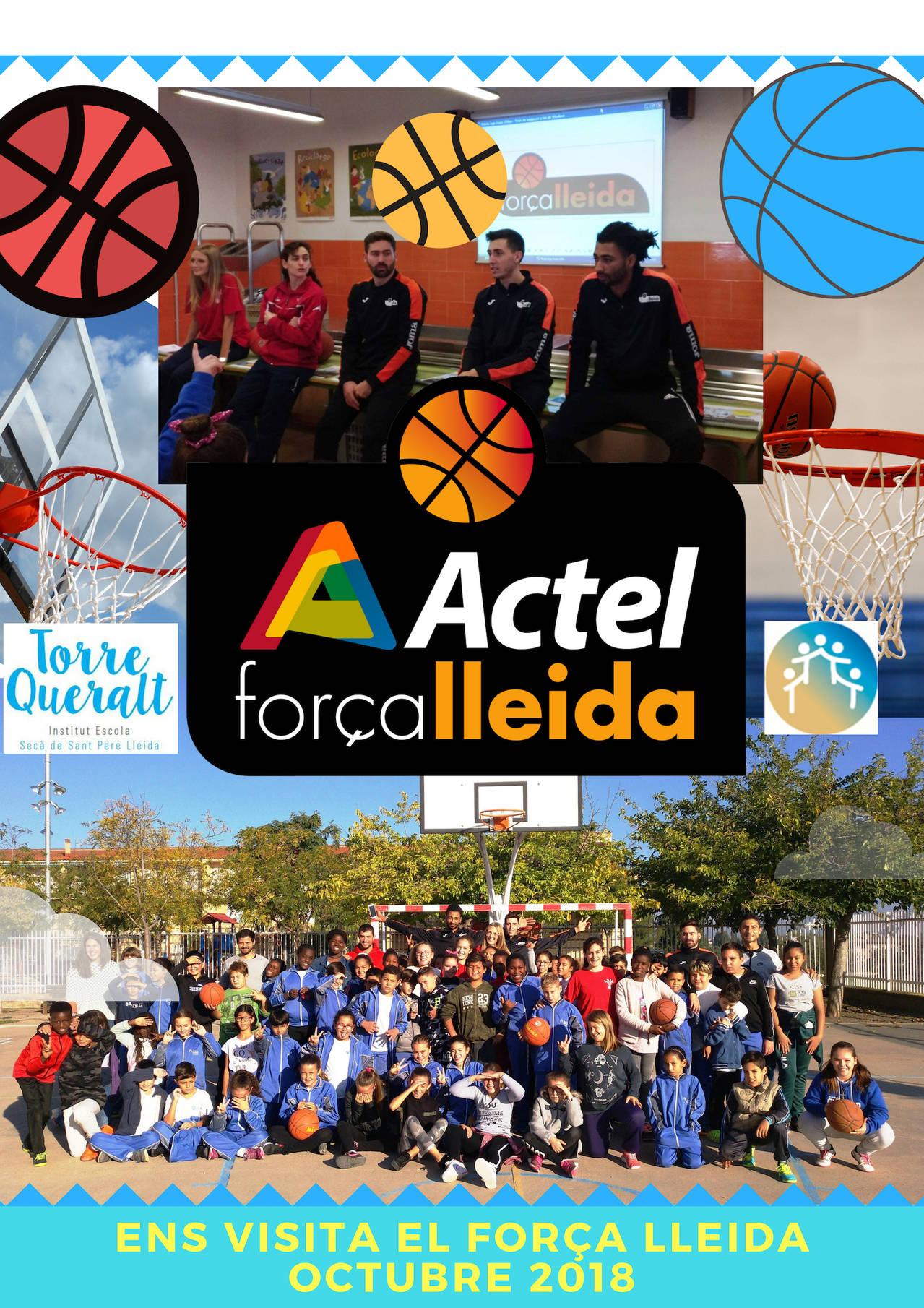 Ens visita el Força Lleida i el CB Lleida