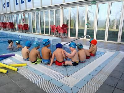 Comencem el curs de natació!!