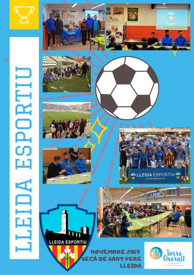 El Lleida Esportiu ens visita!!!