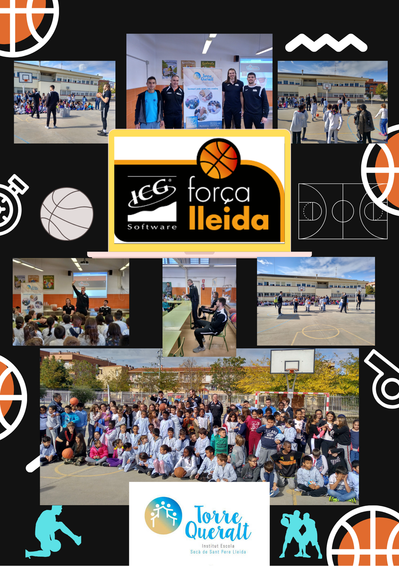 El Força Lleida de bàsquet visita el nostre centre!