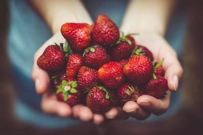 A l'escola mengem fruita