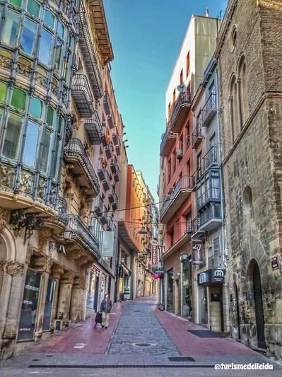 5è A i B de ruta pel centre històric de Lleida!