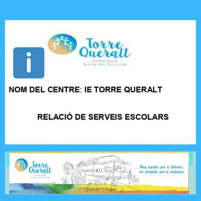 Fitxa informativa del centre I.E. Torre Queralt