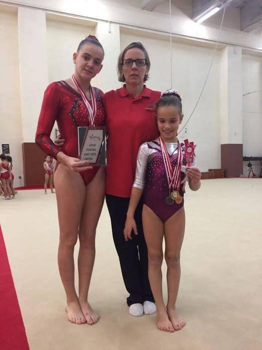 """Representació bellvisenca a la 24a edició del la competició internacional """"Gymstars"""" a Malta"""