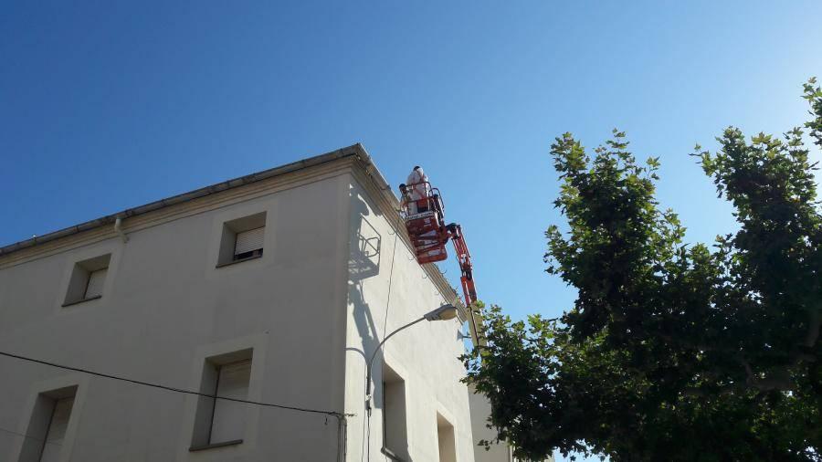 Substitució de la teulada de l'Ajuntament