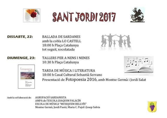 Diada de Sant Jordi, 2017