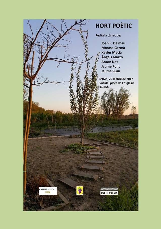 2a edició de l'Hort Poètic