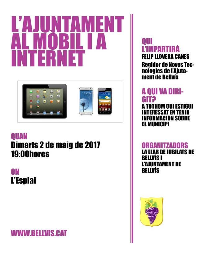 Sessió informativa: L'Ajuntament al mòbil i a Internet