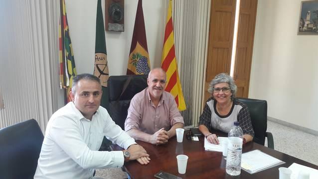 Reunió entre el Departament de Treball, Afers Socials i Famílies de la Generalitat, la Residència Sènior i l'Ajuntament de Bellvís