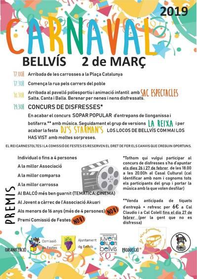 Carnaval a Bellvís