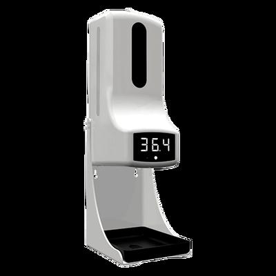 Dispensador de gel sanitario con medidor de temperatura