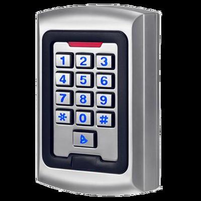 Control de acceso autónomo para interior Acceso por teclado y EM RFID